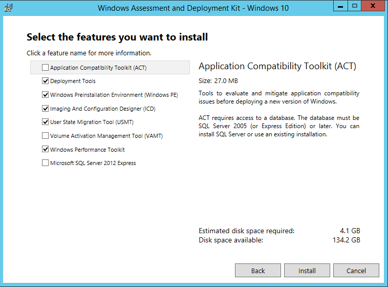 Microsoft Deployment Toolkit (MDT 2013) Basic Windows 10