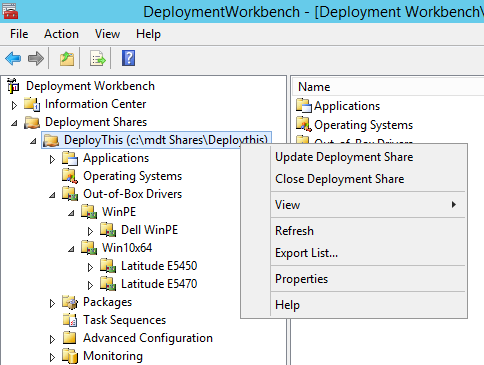Microsoft Deployment Toolkit (MDT 2013) Basic Windows 10 Deployment