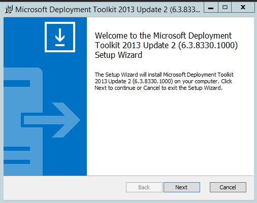 7 MDT Installer