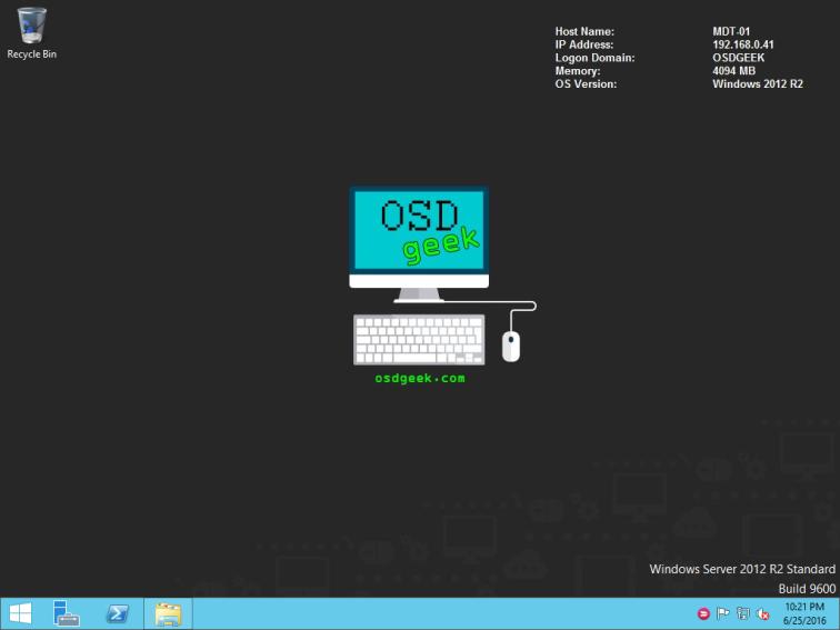 OSD Geek Desktop