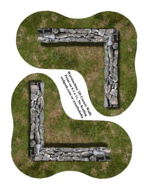 2D-Corner-Walls